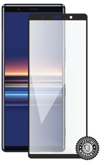 Screenshield ochrana displeje Tempered Glass pro SONY Xperia (5 J9210), full cover, černá