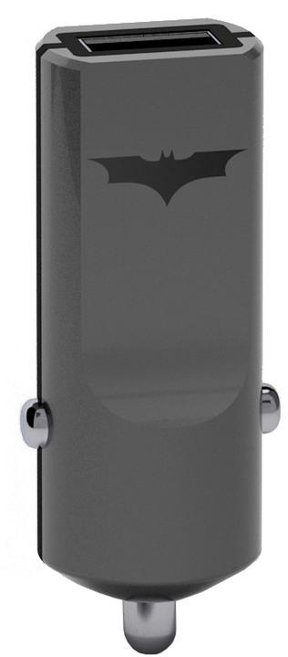 Tribe DC Movie Batman USB nabíječka do auta - Černá