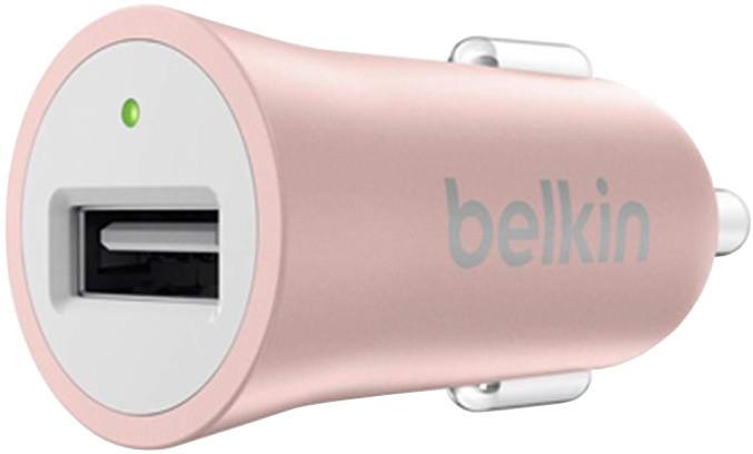 Belkin MIXIT autonabíječka, 5V, 2.4A, růžová