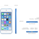 Apple iPod touch - 64GB, šedá, 6th gen.