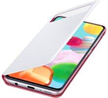 Samsung flipové pouzdro S View pro Samsung Galaxy A41, bílá - EF-EA415PWEGEU
