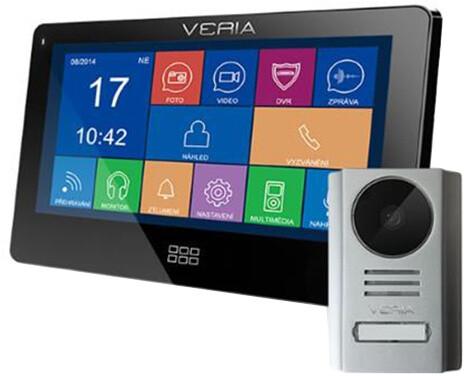 VERIA SET videotelefonu VERIA 7077C + VERIA 229, černá