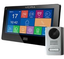 VERIA SET videotelefonu VERIA 7077C + VERIA 229, černá - S-7077C-229