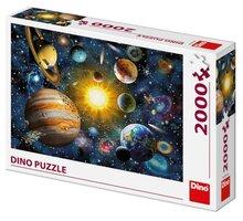 Puzzle Dino Sluneční soustava, 2000 dílků - DI561168