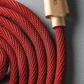 Mcdodo Knight datový kabel Lightning s inteligentním vypnutím napájení, 1.2m, červená