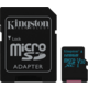 Kingston Micro SDXC Canvas Go! 128GB 90MB/s UHS-I U3 + SD adaptér