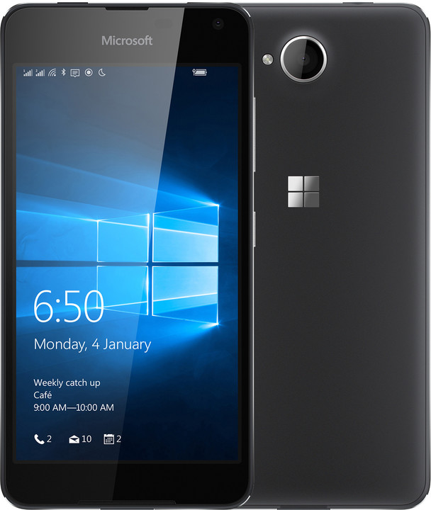 Microsoft Lumia 650, černá