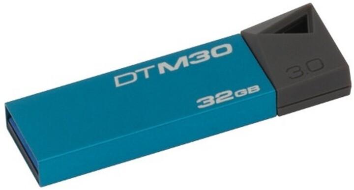 Kingston DataTraveler Mini 32GB modrá