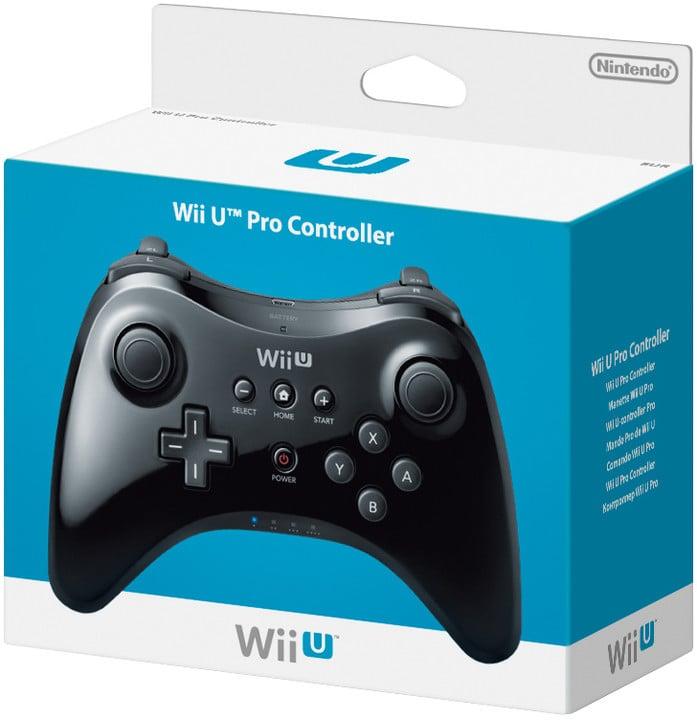 WiiU - Pro Controller Black