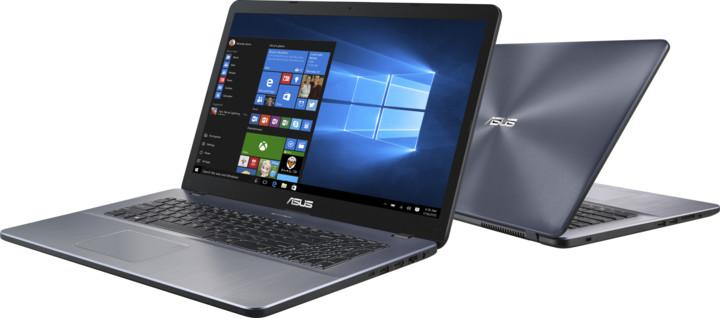 ASUS VivoBook 17 X705NC, šedá