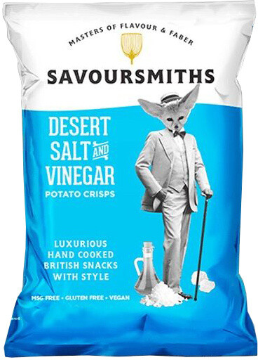 Savoursmiths Desert Salt & Vinegar 150 g
