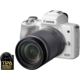 Canon EOS M50, bílá + EF-M 18-150mm IS STM  + Získejte zpět až 7 500 Kč