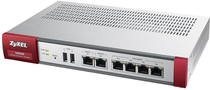 Zyxel ZyWALL USG60 UTM Security Firewall