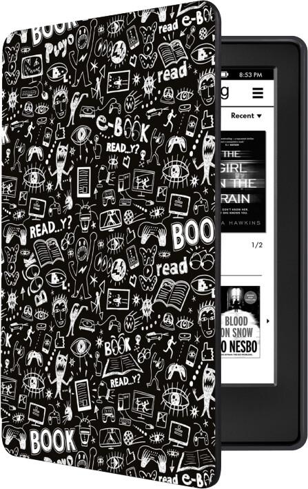 CONNECT IT pouzdro Doodle pro Amazon New Kindle 2019/2020 (10. gen.), černá