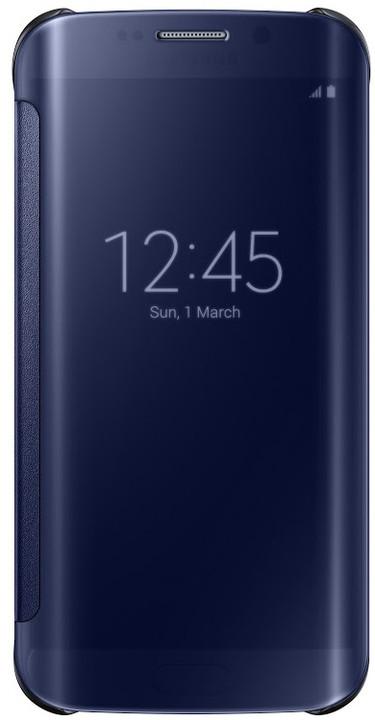 Samsung Clear View EF-ZG925B pouzdro pro Galaxy S6 Edge (G925), černá