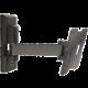 Meliconi 580406 CME Rotation ER 100 nástěnný náklonný držák na TV, černá  + Voucher až na 3 měsíce HBO GO jako dárek (max 1 ks na objednávku)