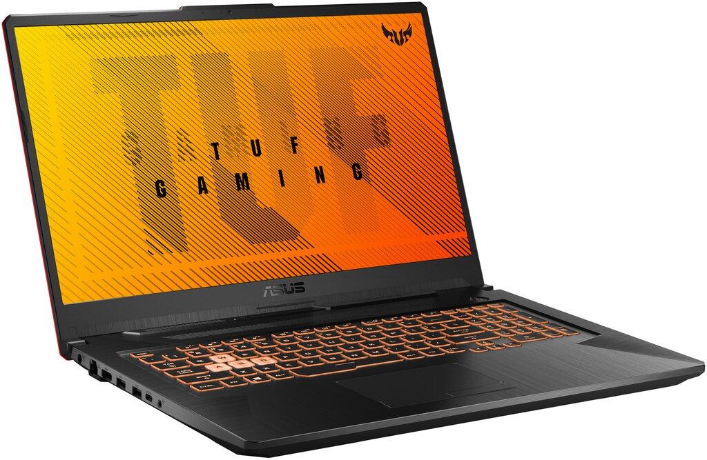 """ASUS TUF Gaming F17, FX706LI-HX200T  - 17,3"""" FHD/i5-10300H/8GB/512GB SSD/GTX1650Ti 4GB/Win10 Home"""