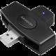 AXAGON CRE-SM5, čtečka kontaktních karet (eObčanka)