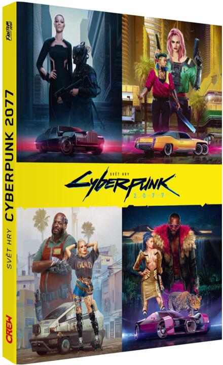 Kniha Svět hry Cyberpunk 2077