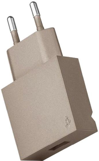 USBEPower POP Pocket charger 1USB stand, šampaňská