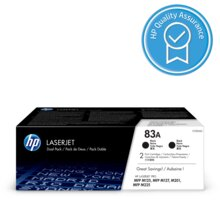 HP 83A Black dual pack - CF283AD