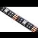 OPTY USB LED pás 70cm, RGB, integrovaný ovladač