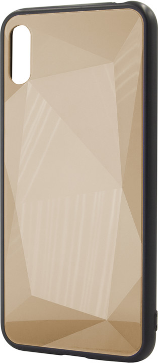 EPICO COLOUR GLASS Case pro Huawei Y6 (2019), zlatá