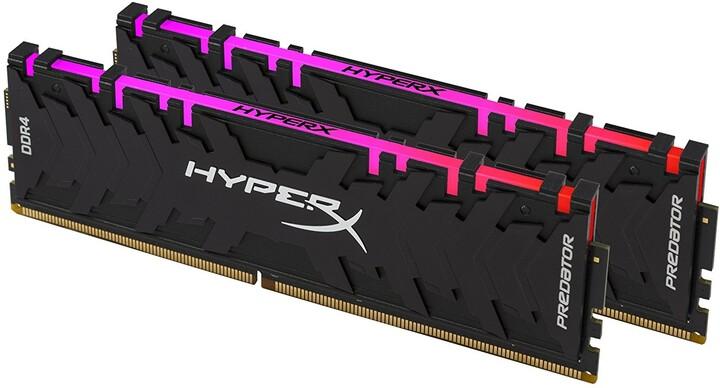 HyperX Predator RGB 16GB (2x8GB) DDR4 2933 CL15