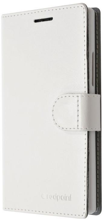 FIXED FIT pouzdro typu kniha pro Huawei P9 Lite, bílé