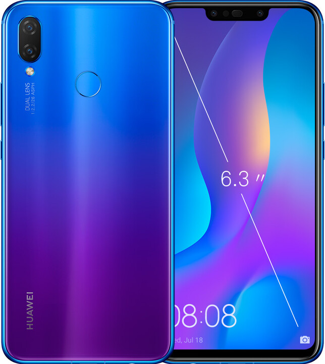 Huawei Nova 3i, 4GB/128GB, fialová