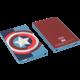 Tribe Marvel Captain America 4000mAh Power Bank - Modrá