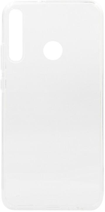 EPICO plastový kryt RONNY GLOSS pro Huawei P40 Lite E, bílá transparentní