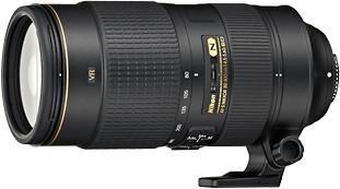 Nikon objektiv Nikkor 80-400 mm f4,5 - 5,6G AF-S VR ED
