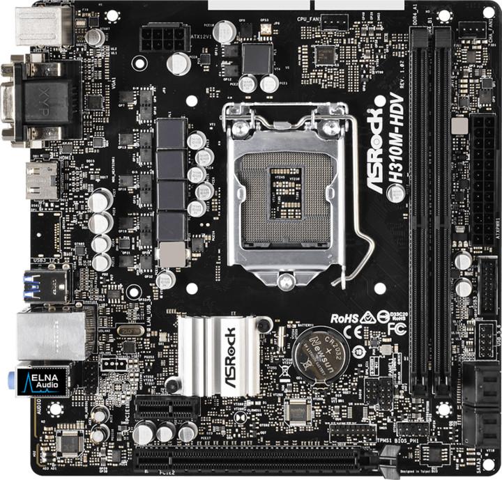 ASRock H310M-HDV - Intel H310