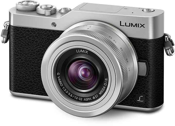 Panasonic Lumix DMC-GX800, stříbrná + 12-32 mm