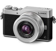 Panasonic Lumix DMC-GX800, stříbrná + 12-32 mm - DC-GX800KEGS