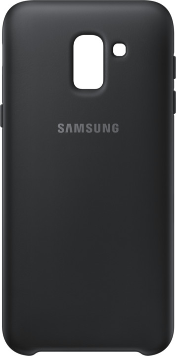 Samsung dvouvrstvý ochranný kryt pro J6, černá