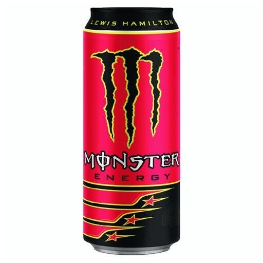 Monster Lewis Hamilton, energetický, 500 ml