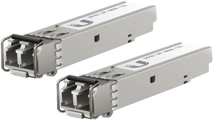 Ubiquiti Multi-Mode optický modul SFP, 1.25 Gbps, 550m, sada 2 kusů