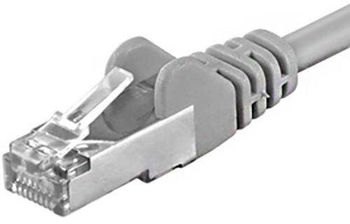 PremiumCord Patch CAT6a S-FTP, AWG 26/7 0,5m šedá