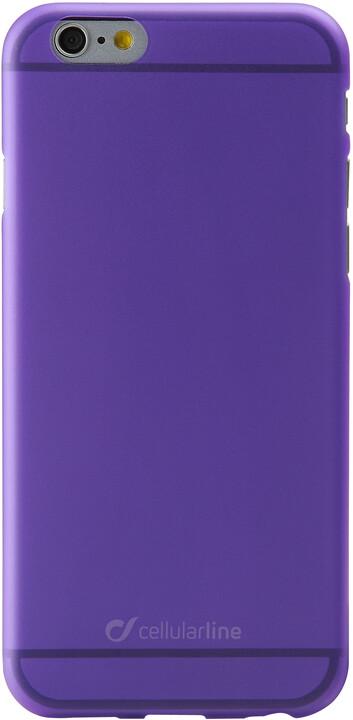CellularLine zadní kryt Color Slim pro iPhone 6, fialová