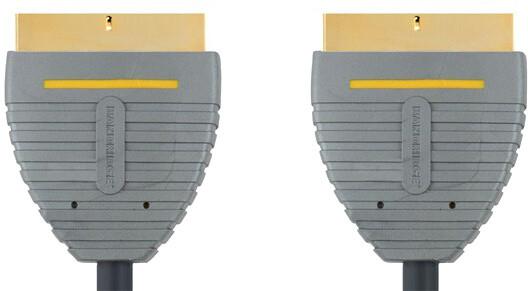 Bandridge BVL7102 SCART kon. - SCART kon., 21pin, 2m