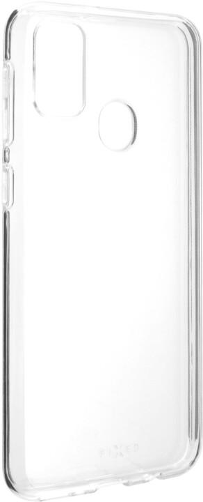 FIXED TPU gelové pouzdro pro Samsung Galaxy M21, čirá