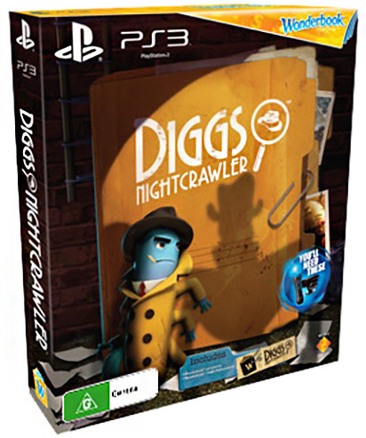 Wonderbook: Diggs Nightcrawler + Move - PS3