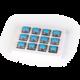 Keychron mechanické spínače, Gateron Low Profile Blue, 12ks