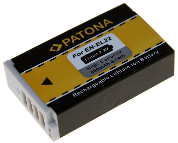 Patona baterie pro Nikon EN-EL2 850mAh Li-Ion