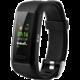 Niceboy X-fit GPS chytrý náramek  + Sluchátka Niceboy Hive E2, špunty, bezdrátová, s mikrofonem, zelená