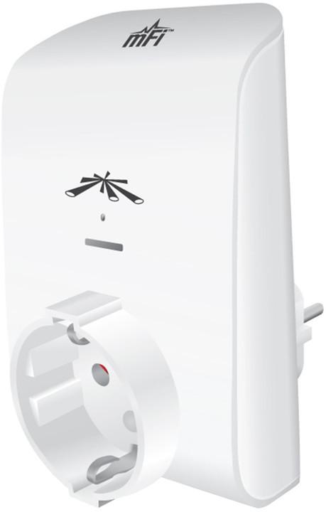 Ubiquiti mFi, ovladatelná zásuvka 1-port 230V, WiFi