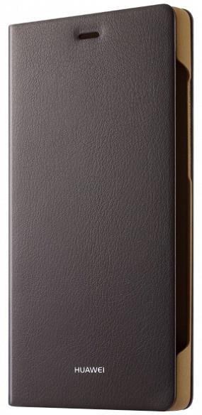 Huawei Folio pouzdro pro P8 Lite, hnědá
