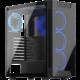 SilentiumPC Armis AR5X TG RGB, okno, černá